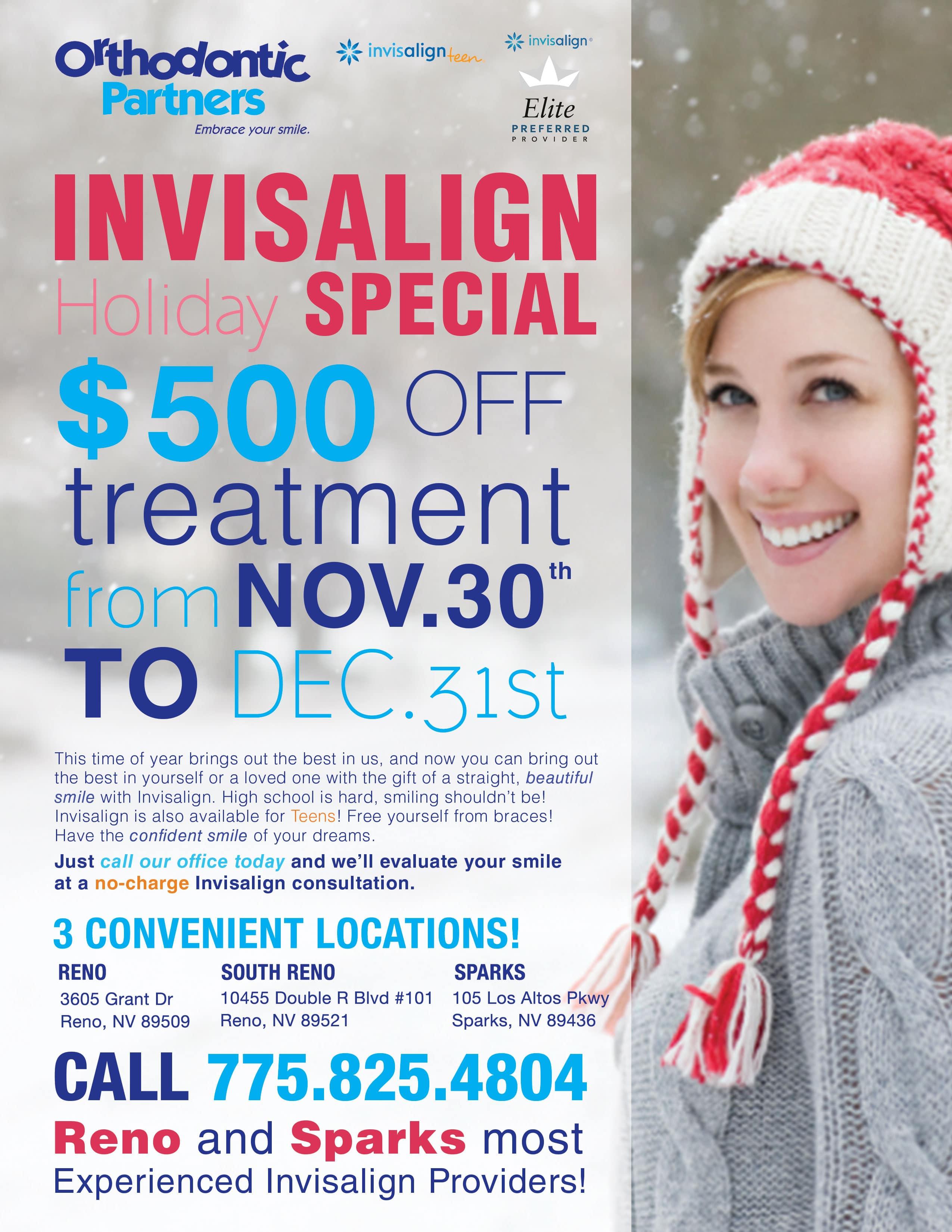 $500 Off   Orthodontic Partners   Reno, NV